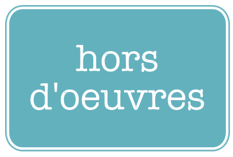 link to hors d'oeuvres menu